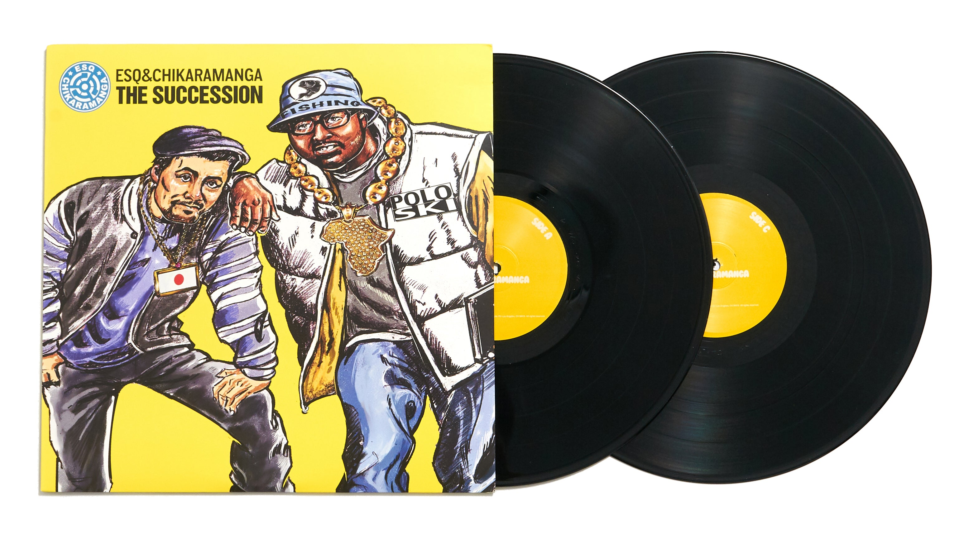 "ESQ & Chikaramanga ""The Succession"" (LP)"