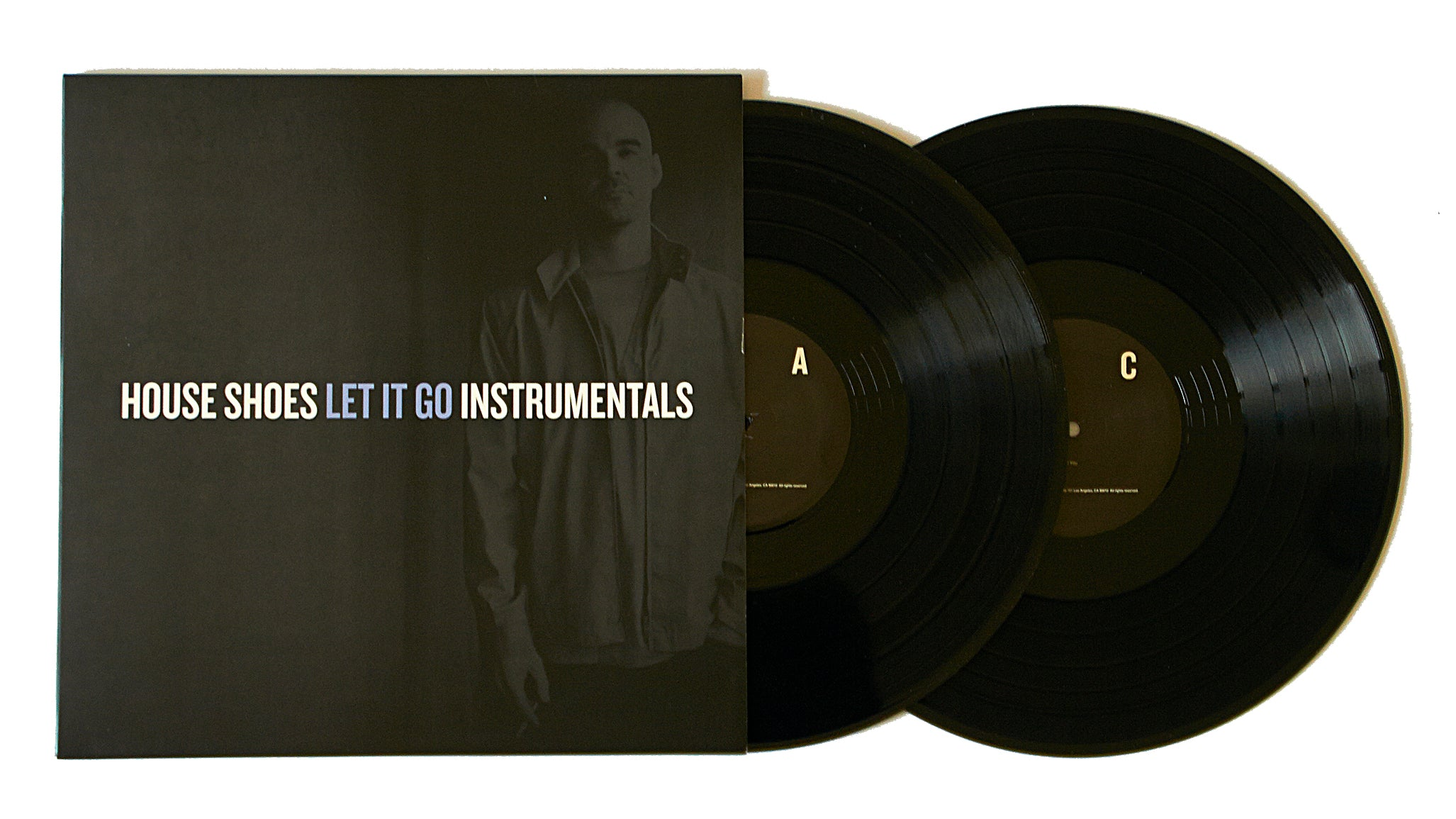 "House Shoes ""Let It Go - Instrumentals"" (LP)"