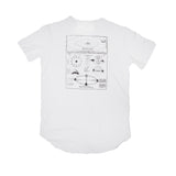 Orbits T-Shirt White