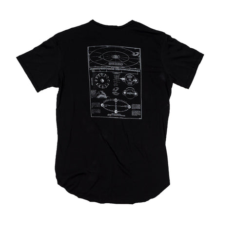 Orbits T-Shirt Black