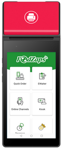 4-In-1 Android Mobile POS integrated eWaiter, Kitchen, QR Self-Order and Loyalty Program