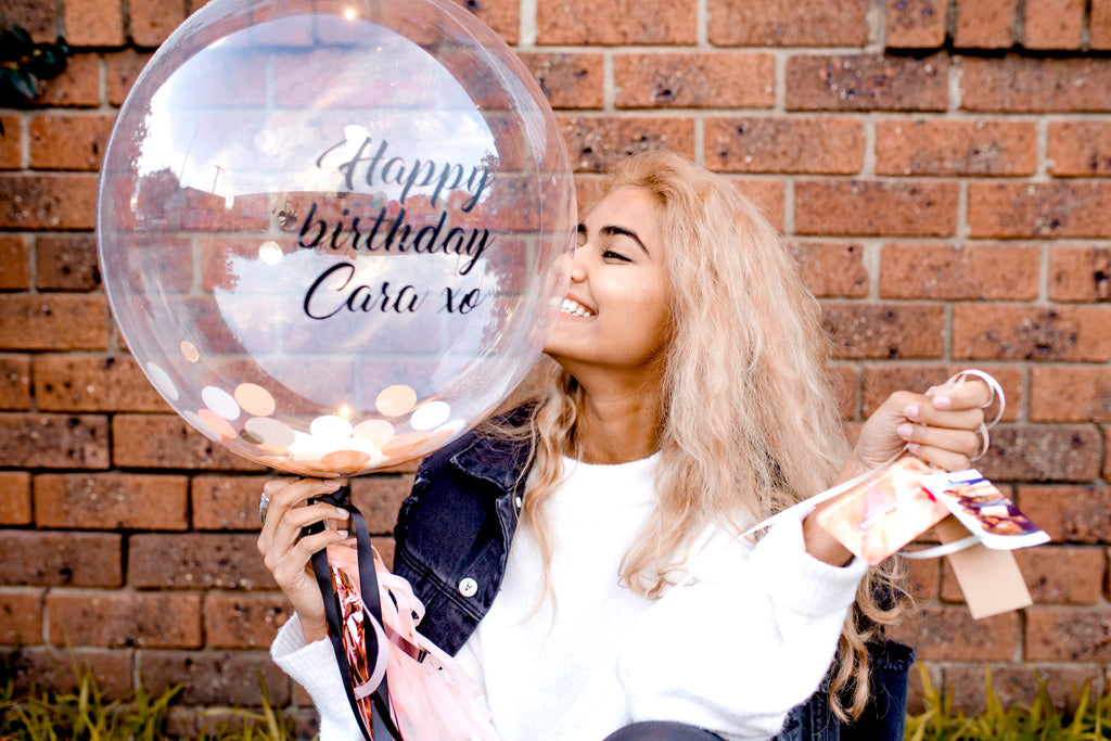 Personalised Balloons | The Heyday Club