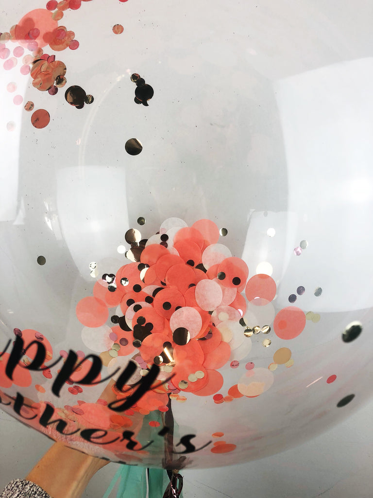 Close up of Mother's Day balloon | The Heyday Club