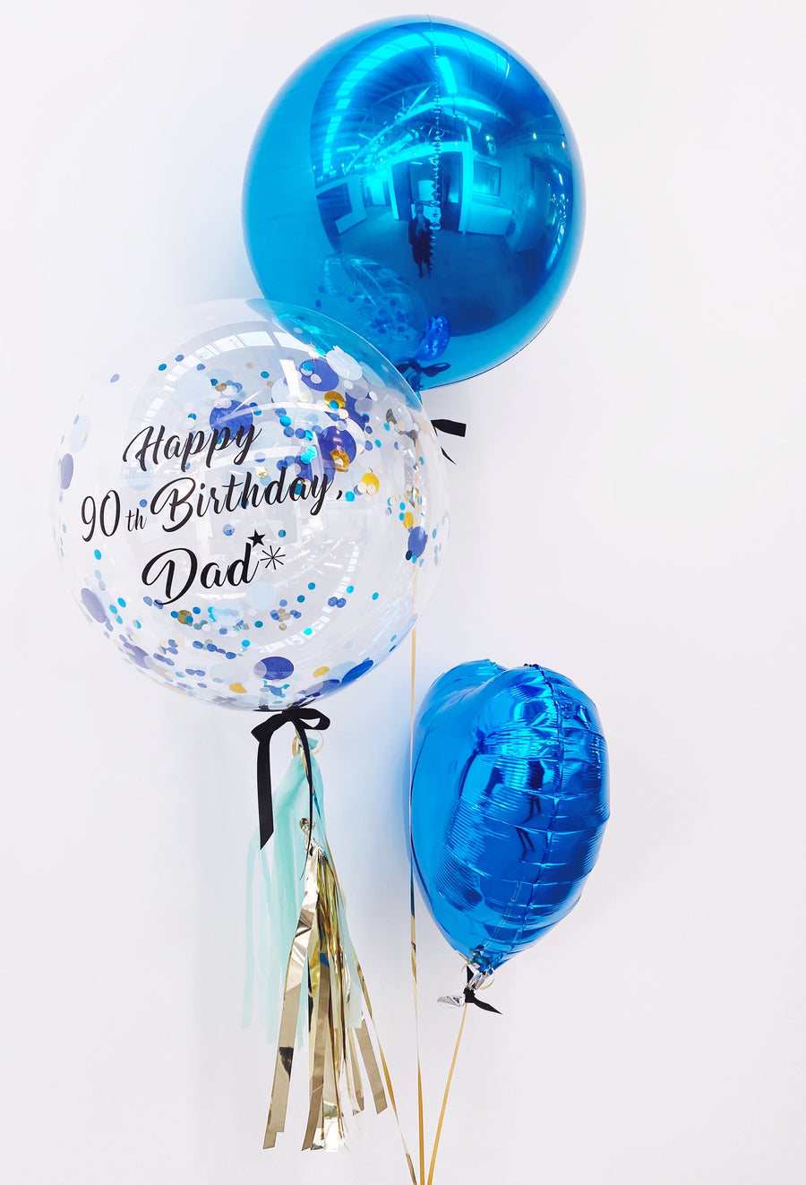 Birthday balloons for Dad. Gift ideas for men