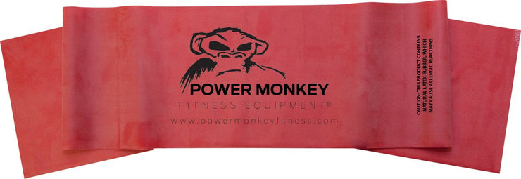Set Of 3 Power  Monkey Therabands (Green, Red, Blue)