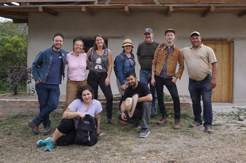 CC Roasters visit Betty Perez's farm in Marcala, Honduras