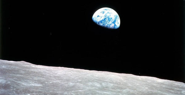 Earthrise, taken on December 24, 1968, by Apollo 8 astronaut William Anders