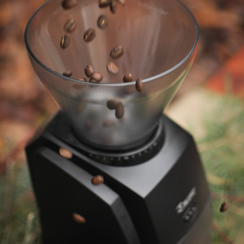 Baratza Encore burr grinder with Higher Grounds Coffee