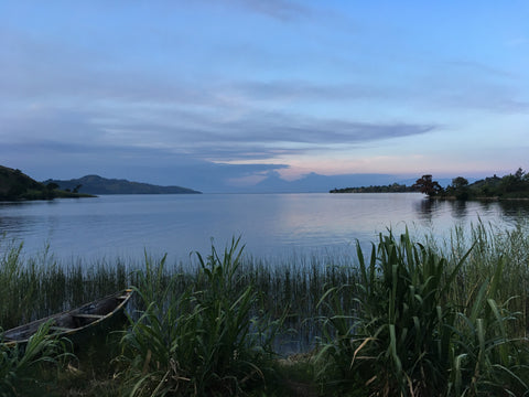 Lake Kivu view from Kiniezire