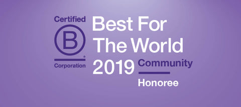BCorp Best for the World Honoree 2019