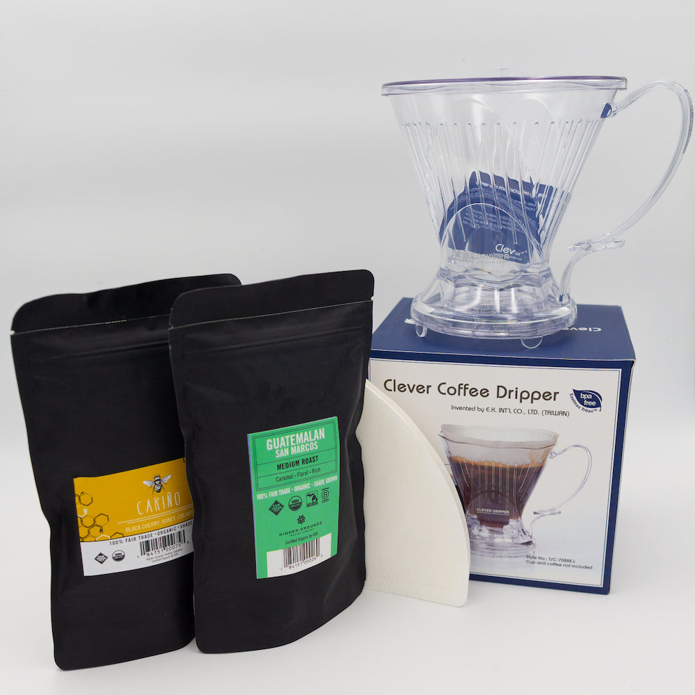 Clever Dripper Brew Kit & Class - LIMITED Quantity (20)
