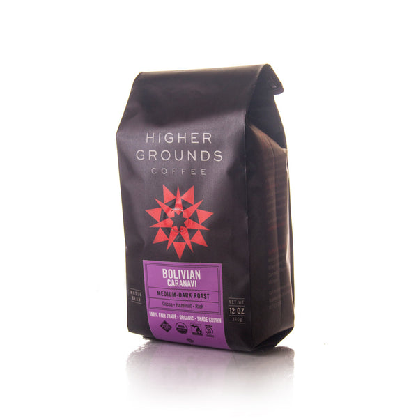 Organic Bolivian Caranavi Medium-Dark