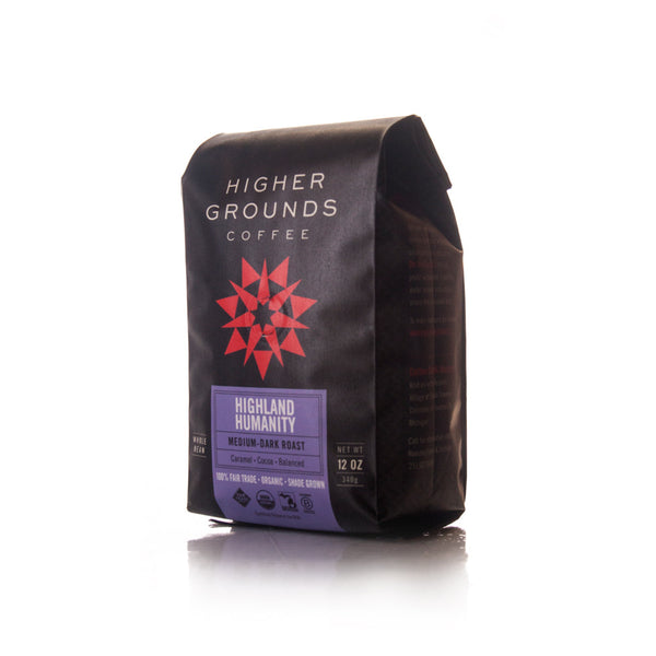 Highland Humanity Medium-Dark Blend Organic Coffee