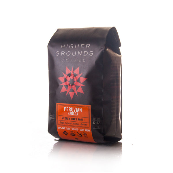 Organic Peruvian Pangoa Medium-Dark