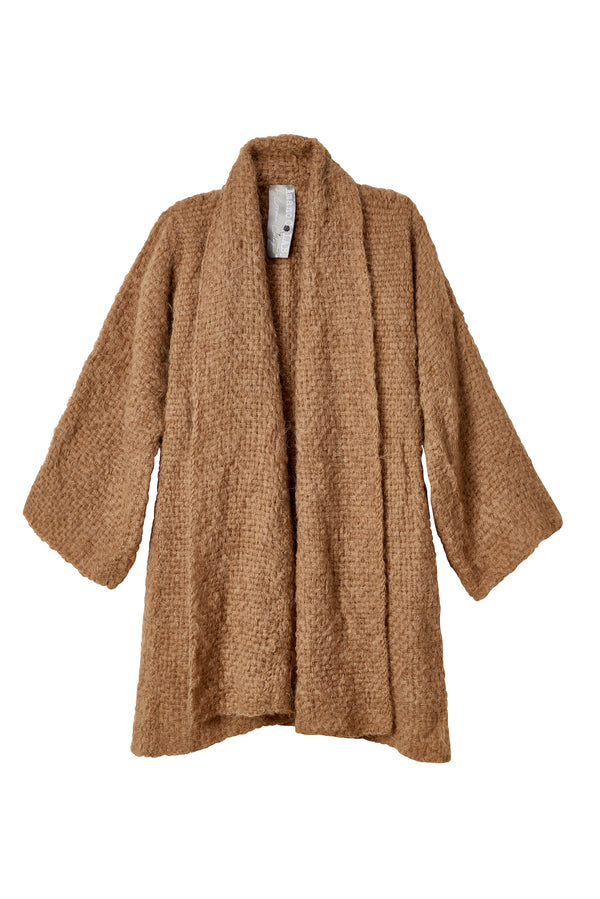 Hand Woven Sweater Coat