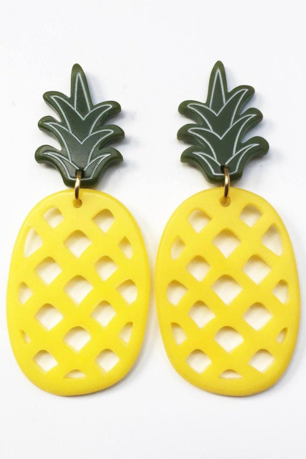 PINEAPPLE Earrings- Small