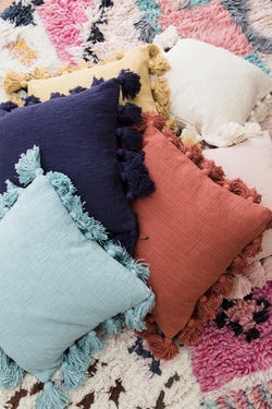Square Tassel Pillow