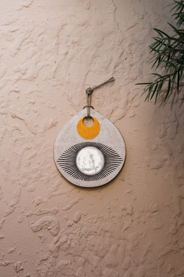 EYE Teardrop Portal Wall Hanging 2