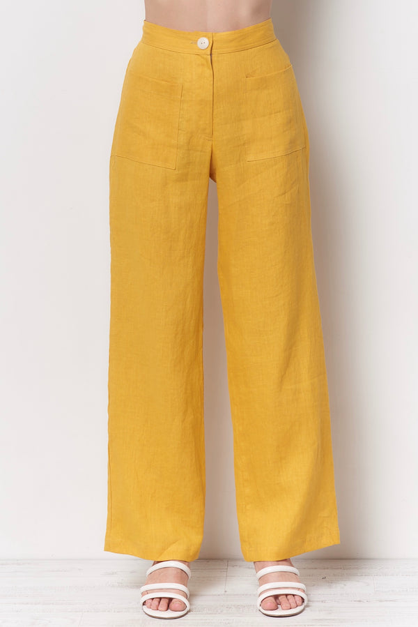 PADMA Patch Pocket Pant - Linen
