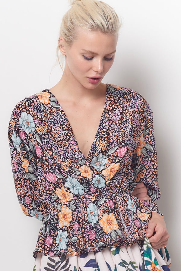 AMARI Wrap Top - Superbloom