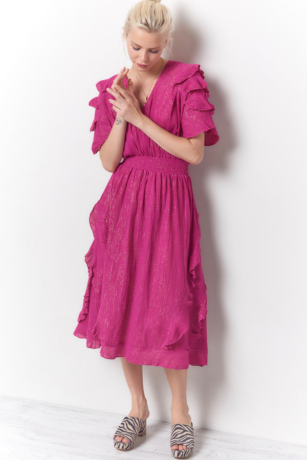 BETINA Ruffle Dress - Gauze