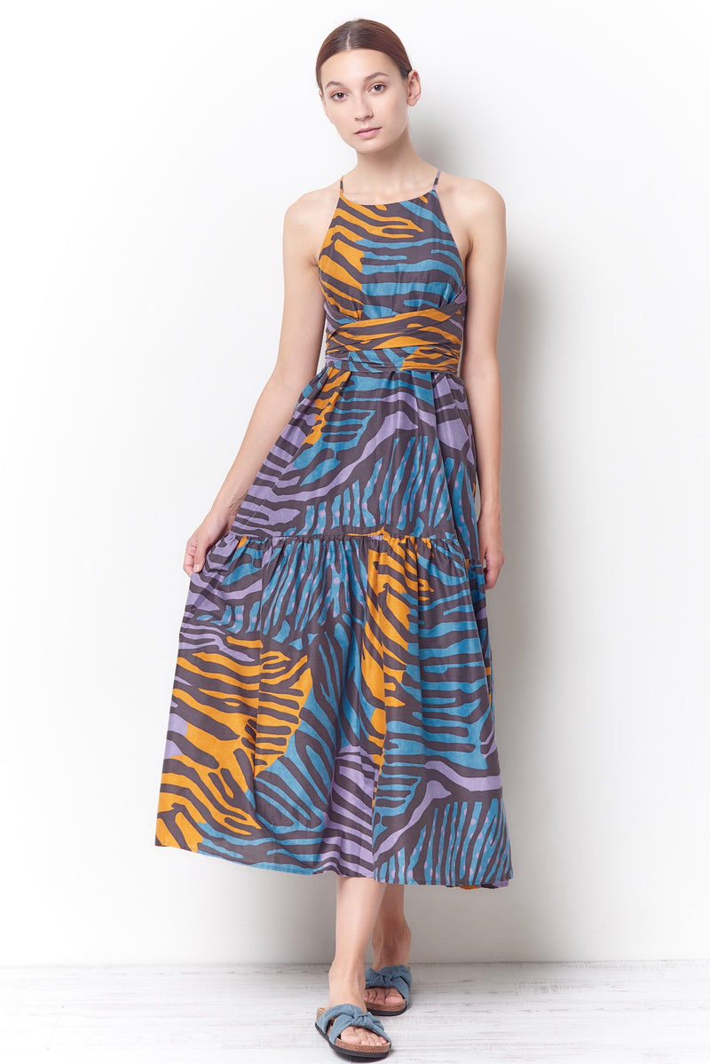 MATILDA Sun Dress - Zebra