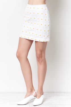 SYLVIE Mini Skirt - Daisy