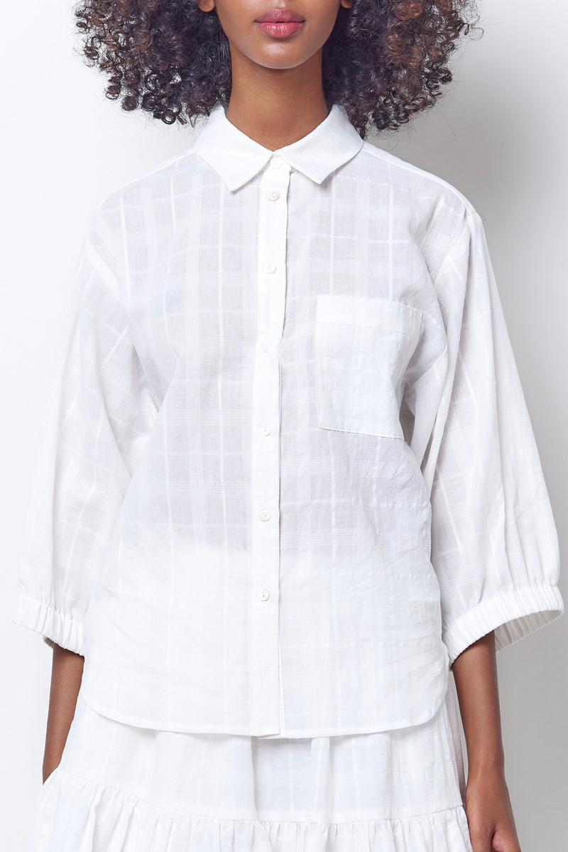 CATRIONA Button Down Shirt - Plaid