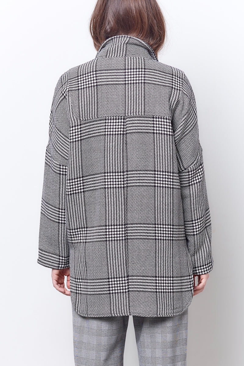 PETRA Dolman Notch Collar Coat