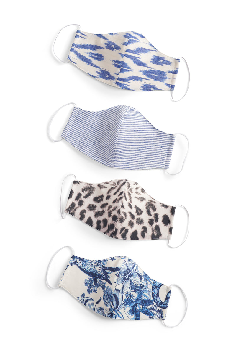 Pair of Fitted MASKS - SPRING PRINTS