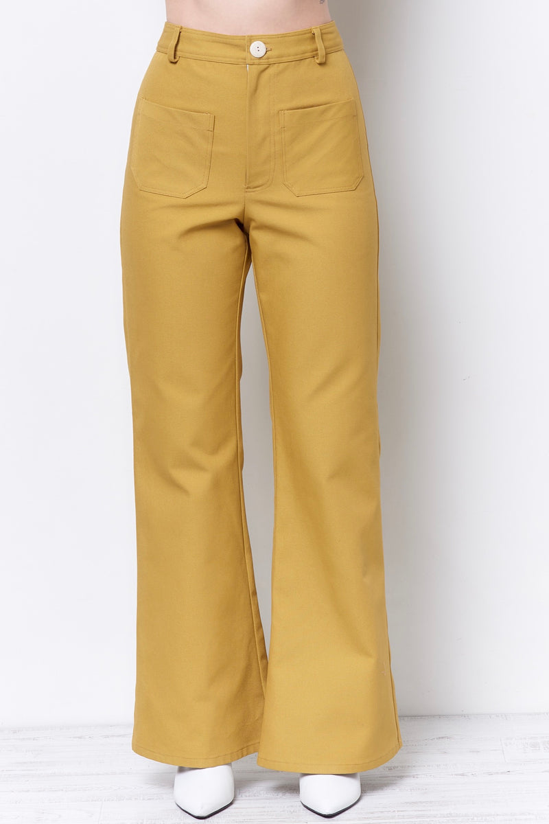 MOLLY Patch Pocket Pant - Canvas