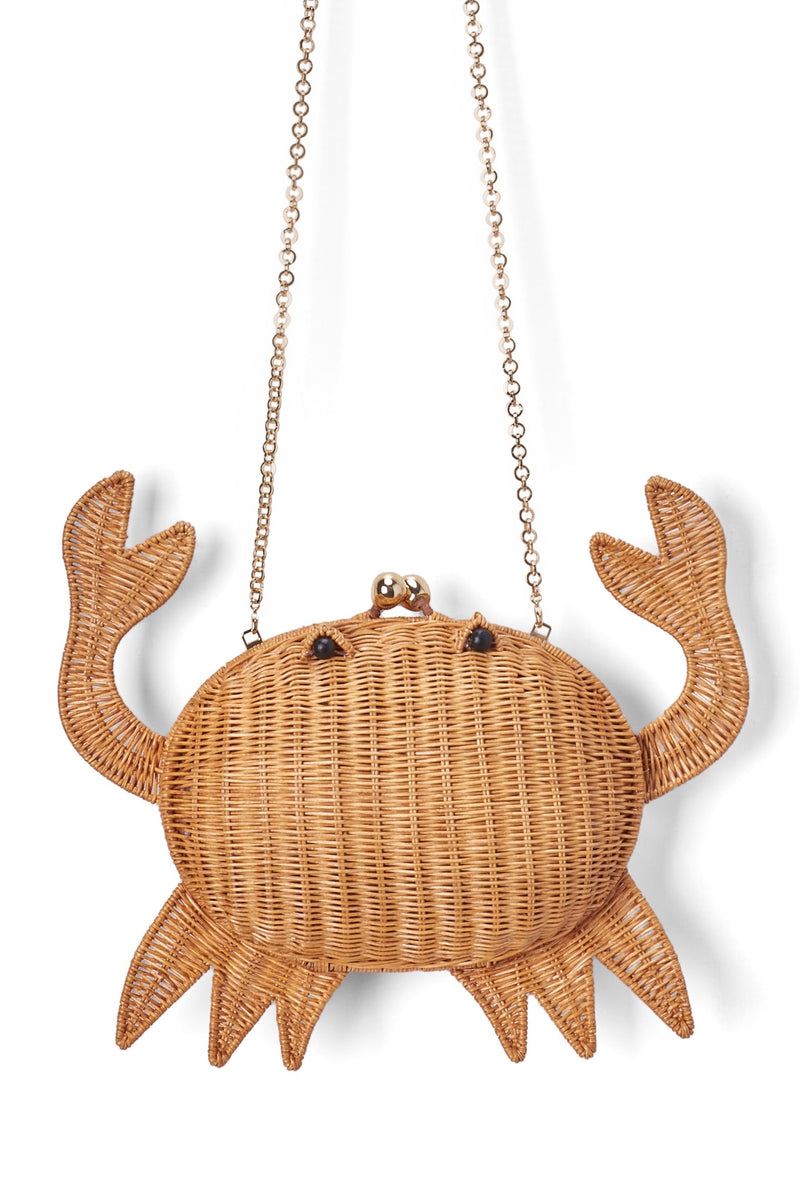 Straw CRAB Bag