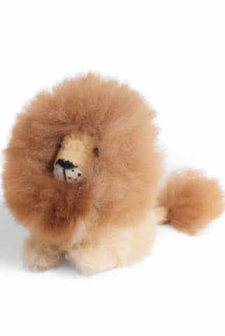 Alpaca LION Fur Animal