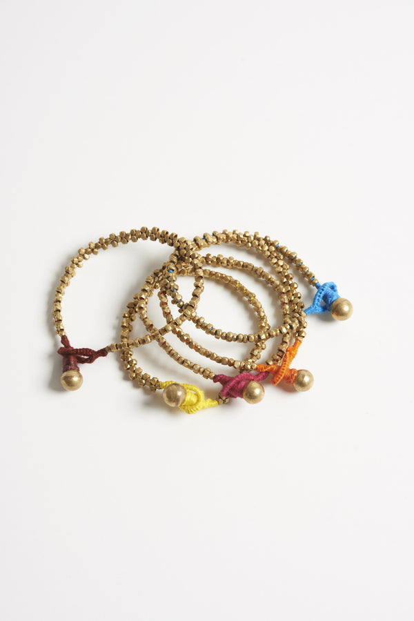 Brass Beaded Bracelets