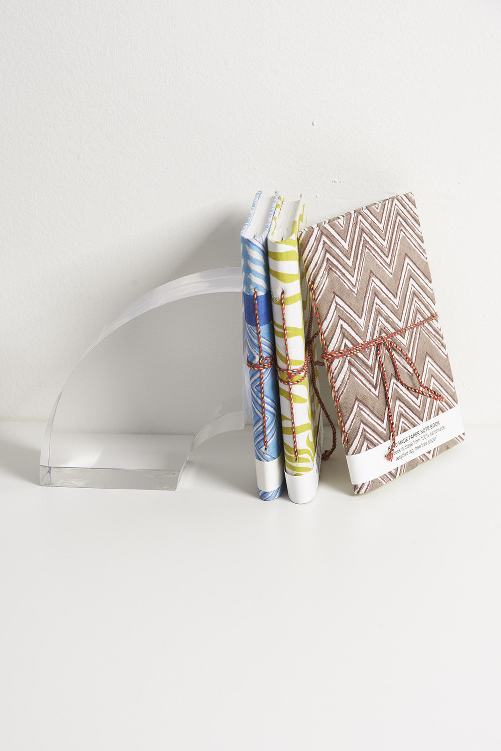 Handmade Books Made of 100% Recycled Materials