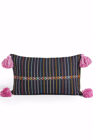 African Indigo Square Pillow