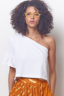 LILY One Shoulder Tee