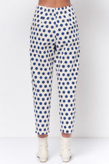 SHEILA Pleated Carrot Pant- Dot