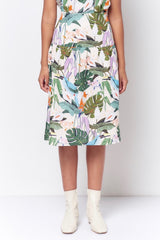 DEBBIE Yoke Top Skirt - Birds