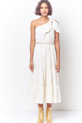 LAUREL Ruffle Layer Sheer Tank Dress - Star