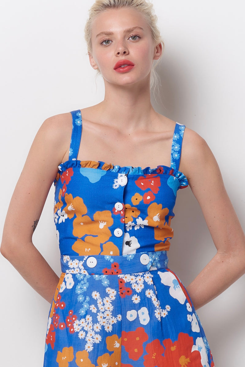 RUTH Tank Top - Flower Power