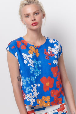 AMALA Tee Top - Flower Power