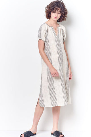 KATE 3 Ways Shirt Dress - Stripe