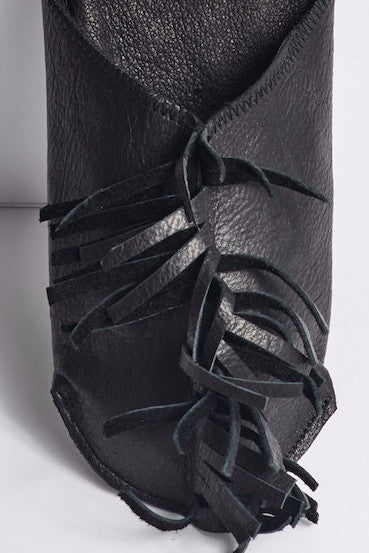 MOHAWK leather slippers