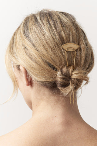 SEAWORTHY Palmea Hair Pin (Brass)