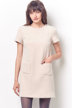 MINDY Shift Dress with Pockets