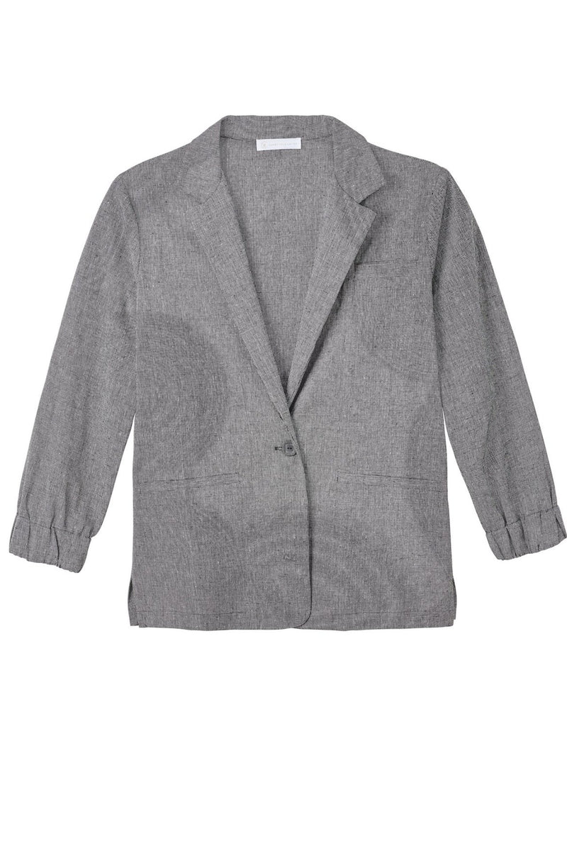 VIOLA Relaxed Blazer with Elastic Cuff