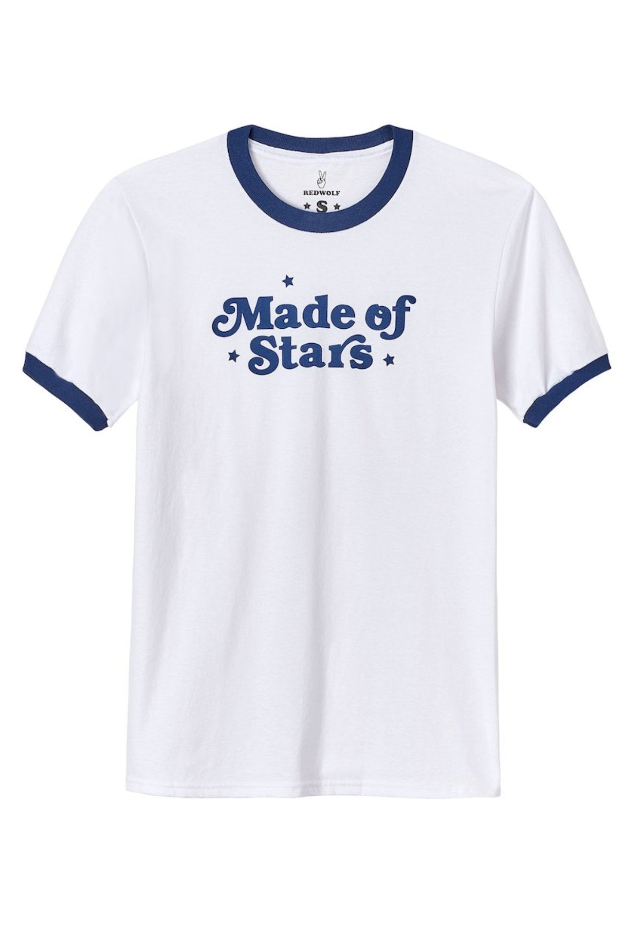 MADE IN THE STARS Ringer Tee