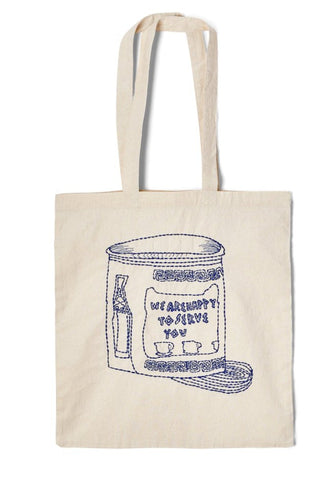 Exclusive CLC Hand Embroidered ECO Totes