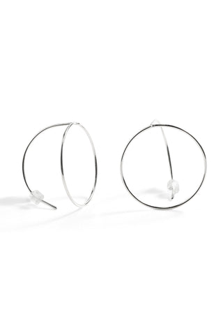 Palm Tree Landscape Hoops- Lg.